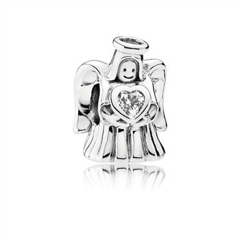 Pandora Angel of Love Charm, Clear CZ 792010CZ