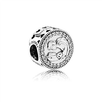 Pandora Disney, Snow White 80th Anniversary Charm, Clear CZ 792142CZ