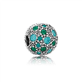 Pandora Cosmic Stars, Multi-Colored Crystals & Teal CZ 791286MCZMX