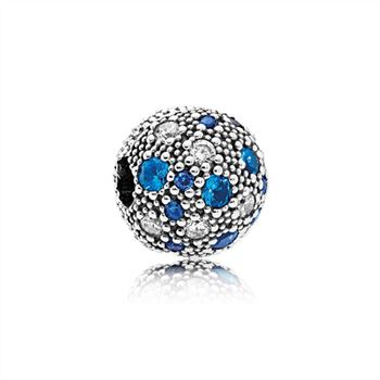 Pandora Cosmic Stars, Multi-Colored Crystals & Clear CZ 791286NSBMX