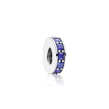 Pandora Eternity Spacer, Royal Blue Crystal 791724NCB