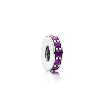Pandora Eternity Spacer, Royal Purple Crystal 791724NRP