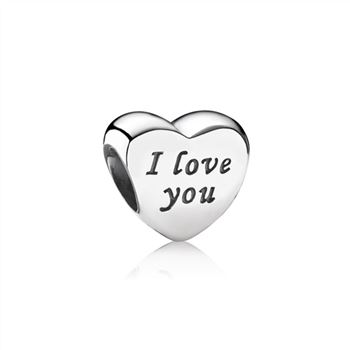 Pandora Words Of Love Engraved Heart Charm 791422